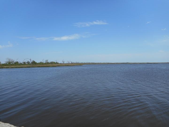 April 2016 View at Cutoff Canal