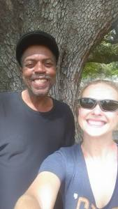 Me and David at Oak Tree in Biloxi